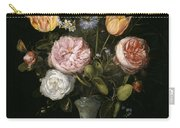 Floral Still Life Carry-all Pouch