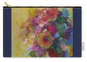 Floral Still Life Carry-all Pouch by Mary Wolf