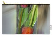 Floral Table Piece Carry-all Pouch