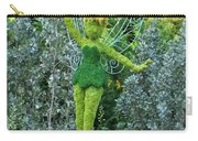 Floral Tinker Bell Carry-all Pouch by Thomas Woolworth