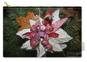 Floral Tree Ornament Carry-all Pouch