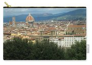 Florence Italy Panoramic Carry-all Pouch