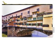 Florence Italy Ponte Vecchio Carry-all Pouch