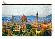 Florence Watercolor Carry-all Pouch