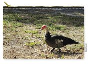 Florida Duck On Green Grass Carry-all Pouch