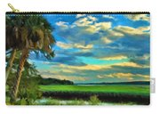 Florida Landscape With Palms Carry-all Pouch