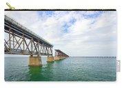 Florida Overseas Railway Bridge Near Bahia Honda State Park Carry-all Pouch