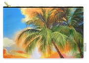 Florida Palm Sunset Carry-all Pouch