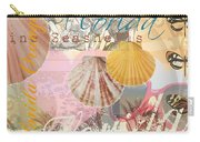 Florida Seashells Collage Carry-all Pouch