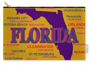Florida State Pride Map Silhouette  Carry-all Pouch