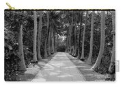 Florida Walkway Black And White Carry-all Pouch