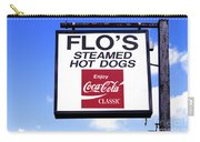 Flo's Steamed Hot Dogs Carry-all Pouch