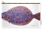 Flounder Carry-all Pouch by Carey Chen