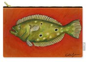 Flounder Carry-all Pouch
