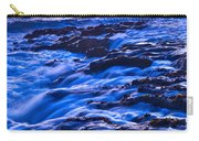 Flow - Dramatic Sunset View Of A Sea Stack In Davenport Beach Santa Cruz. Carry-all Pouch