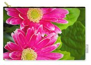 Flower 3 Carry-all Pouch