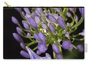 Flower- Agapanthus-blue-buds-one-flower Carry-all Pouch