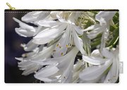 Flower-agapanthus-white-flora Carry-all Pouch