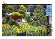Flower And Garden Signage Walt Disney World Carry-all Pouch