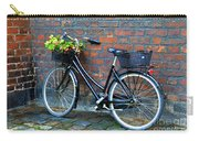 Flower Basket Bicycle Carry-all Pouch