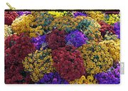 Flower Bed Across The Street From The Grand Palais Off Of Champs Elysees  Carry-all Pouch