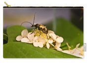 Flower Beetle Carry-all Pouch
