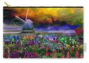 Flower Bliss Carry-all Pouch