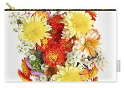 Flower Bouquet Carry-all Pouch