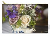 Flower Bouquet In A Teapot Carry-all Pouch