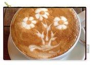Flower Bouquet Latte Art Carry-all Pouch
