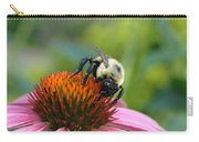 Flower Bumble Bee Carry-all Pouch