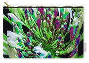 Flower Bunch Bush Sensual Exotic Valentine's Day Gifts Carry-all Pouch