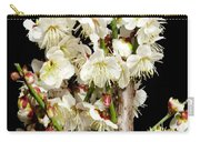 Flower Bunch Bush White Cream Strands Sensual Exotic Valentine's Day Gifts Carry-all Pouch