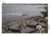 Flower By The Sea Carry-all Pouch