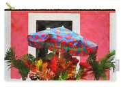 Flower Cart San Juan Puerto Rico Carry-all Pouch