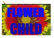 Flower Child Phone Case Work Carry-all Pouch