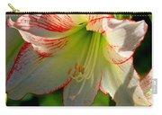 Flower Child Amaryllis Flower Art Carry-all Pouch