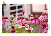 Flower - Cone Flower - In An English Garden  Carry-all Pouch