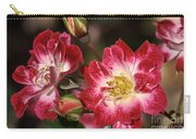 Flower-cream-pink-red-rose Carry-all Pouch