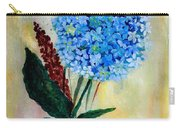 Flower Decor Carry-all Pouch