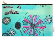 Flower Fever Carry-all Pouch