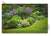 Flower Garden Carry-all Pouch by Elena Elisseeva