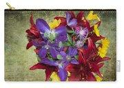 Flower - Garden Joy - Luther Fine Art Carry-all Pouch