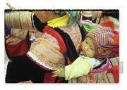 Flower Hmong Baby 03 Carry-all Pouch