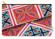 Flower Hmong Embroidery 02 Carry-all Pouch