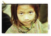 Flower Hmong Girl 02 Carry-all Pouch
