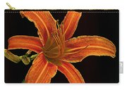 Flower In A Dark Carry-all Pouch