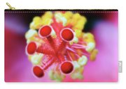 Flower In Pink Carry-all Pouch