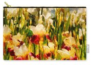 Flower - Iris - Mildred Presby 1923 Carry-all Pouch by Mike Savad