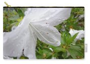 Flower Laced With Rain Drops Carry-all Pouch